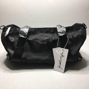 NWT Kendall & Kylie Black Camo Duffle Bag